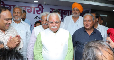 Shri Manohar Lal Khattar CM Haryana, Speaker Shri Kanwar Pal and Sh Ghanshyam with MLAs